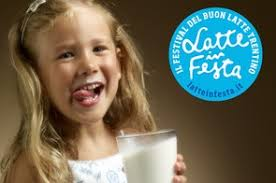 Latte in festa